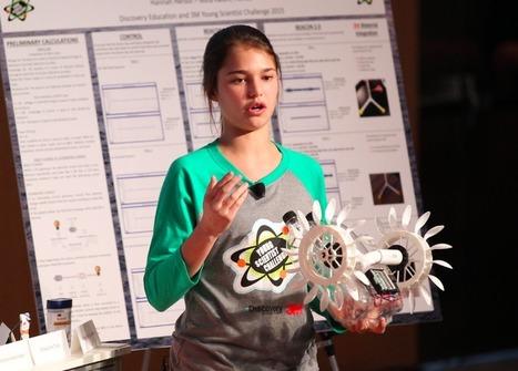 Une adolescente de 15 ans crée un dispositif qui convertit les courants océaniques en énergie | LYFtv - Lyon | Scoop.it