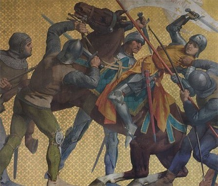 23 mai 1430  Jeanne d'Arc est capturée à Compiègne et jugée  et brûlée vive à Rouen le 30 mai 1431 | histoire de France | Scoop.it