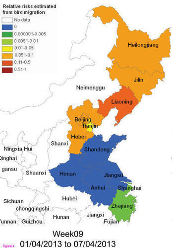 Bird Flu: H7N9 Infection Risk Mapped   Complex Insight  - Understanding our world   Scoop.it