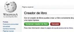 Crea fácilmente libros digitales o impresos con los contenidos de la Wikipedia | BIBLIO CORNER | Scoop.it