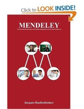 Mendeley Advisor Writes a Book About Mendeley | Mendeley Blog | François MAGNAN  Formateur Consultant | Scoop.it