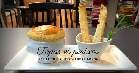 Tapas et pintxos : recettes par le Chef Christophe Le Borgne - Essor | Cuisine et cuisiniers | Scoop.it