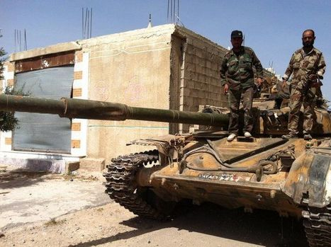 Syrian army renews offensive on Damascus rebels | Syria Will be Free | Scoop.it