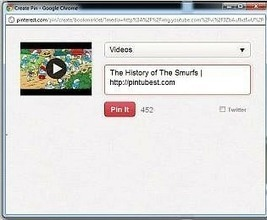 Finally Users Can Now Pin YouTube Videos to Their Pinterest Boards | Liberating Learning with Web 2.0 | Scoop.it
