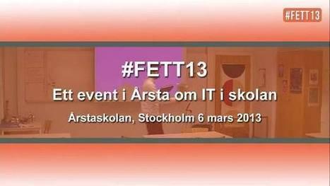 #FETT13, filmer från kvällen. | Källkritik och informationskompetens | Scoop.it