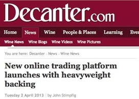 Why online wine trading platforms are sure to fail. Or are they? | Wine website, Wine magazine...What's Hot Today on Wine Blogs? | Scoop.it