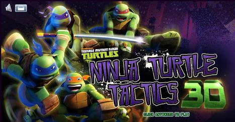 Teenage Mutant Ninja Turtles Tactics 3D - Play Best 3D Games | Action Games | Scooby Doo Games | Avatar Games | Scoop.it