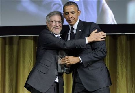 Obama hangs with Spielberg, Springsteen at benefit - Arizona Daily Star | Bruce Springsteen | Scoop.it