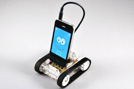 Romo Smartphone Robot is Cute and Cool | All Geeks | Scoop.it