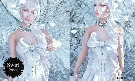 Snow Queen Female Pose January 2017 Group Gift by Swirl Poses | Teleport Hub - Second Life Freebies | Second Life Freebies | Scoop.it