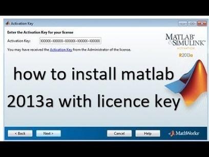 matlab activation key crack r2011a