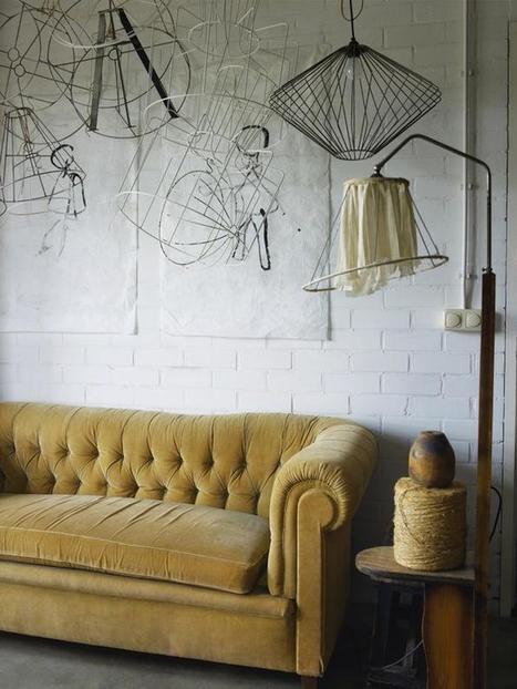 DIY: Lampshade Frames as Decor | Interior & Decor | Scoop.it