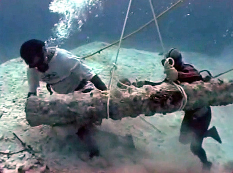 The Process Of Salvaging A 16th Century Shipwreck | #scuba #ocean #wrecks | ScubaObsessed | Scoop.it