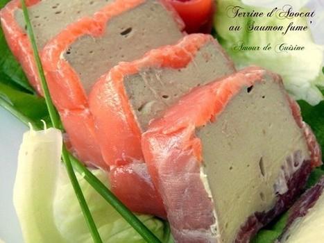mousse d'avocat au saumon fumé | Cuisine Algerienne, cuisine du monde | Scoop.it