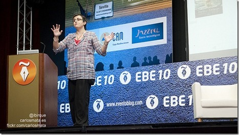 """Firma invitada en el blog del EBE: """"Nos dimos cuenta de cómo de grandes éramos juntos""""   Educación a Distancia y TIC   Scoop.it"""