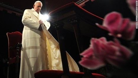 """Leadership? """"Pope Francis' gestures strike fire in our hearts"""" 