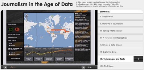 Journalism in the Age of Data I #dataviz #datajournalism | e-Xploration | Scoop.it