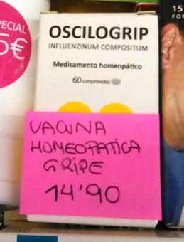 El timo de la vacuna homeopática contra la gripe | microBIO | Scoop.it