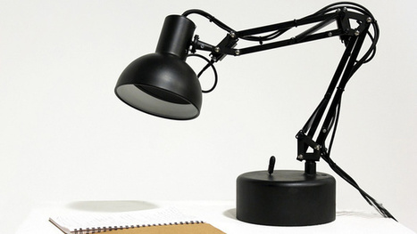 Holy Crap, Someone Made a Real-Life Pixar Desk Lamp | All Geeks | Scoop.it