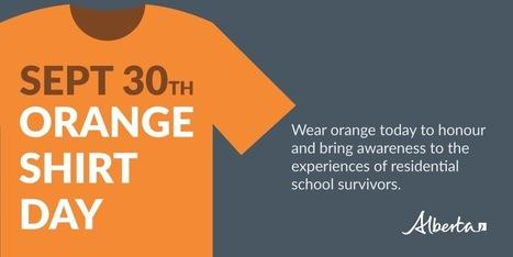 Orange shirt day | Politics in Alberta | Scoop.it