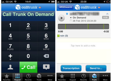 Tool for journalists: Calltrunk, for searchable phone recordings | Media news | Journalism.co.uk | Multimedia Journalism | Scoop.it