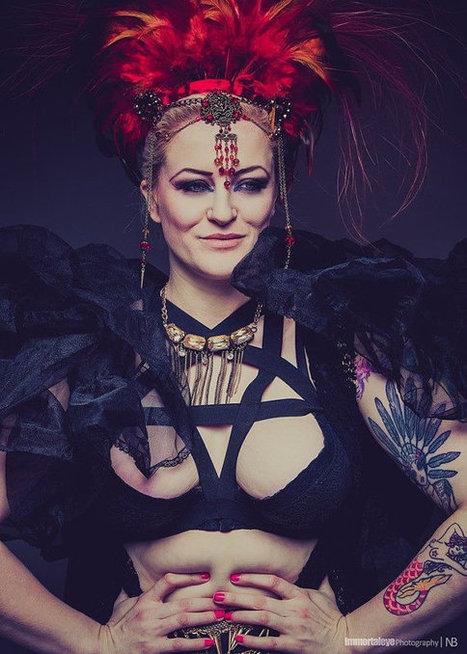 Pentagram Harness Bra fetish lingerie bondage | Lingerie Love | Scoop.it