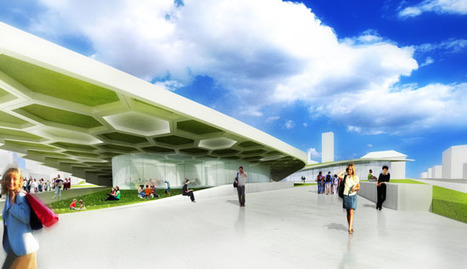 Campus International School For Downtown Cleveland Features A Honeycomb Green Roof | sustainable architecture | Scoop.it