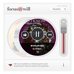 Focus@Will: A Streaming Service Designed To Help You Stay On Task | K-12 School Libraries | Scoop.it