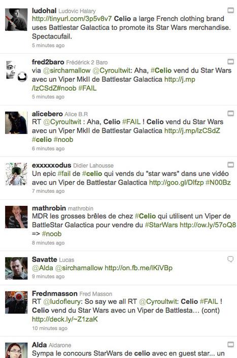 Celio : une marque se prend les pieds dans le Social Media | Olivier LUET, Web Marketing & Stratégies Internet | Exemples à ne pas suivre sur les réseaux sociaux | Scoop.it