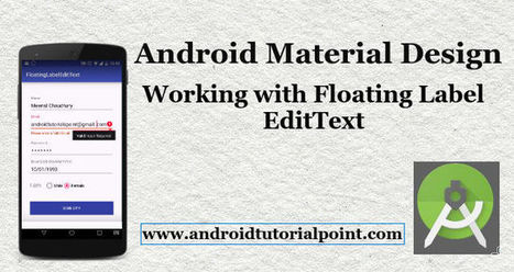 text input layout android' in Android Development Tutorial
