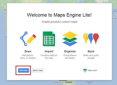 Mapas avanzados con Maps Engine Lite   Lectura, TIC y Bibliotecas   Scoop.it