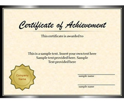 Certificate template in free templates for business powerpoint certificate template in free templates for business powerpoint keynote excel word etc scoop yelopaper Image collections