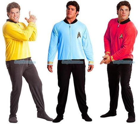 Star Trek Pajamas Go Where No Sleepwear Has Gone Before | All Geeks | Scoop.it