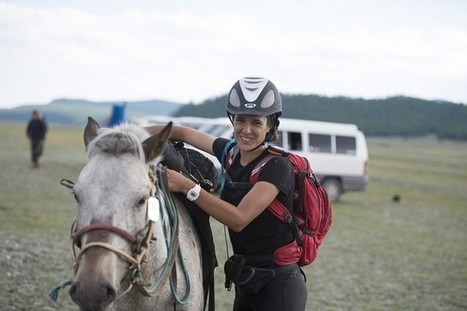 Dubai student completing gruelling Mongol horse race - The National   Endurance Riding   Scoop.it