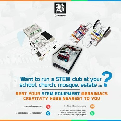 Tweet from @Brainiacs_Ng | STEM Studies | Scoop.it