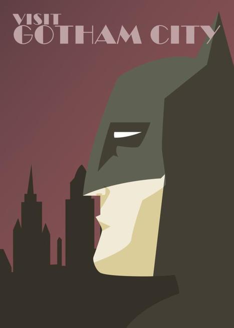 Minimal posters of comics superheroes | Art, photography, design, tech, culture & fashion | Scoop.it
