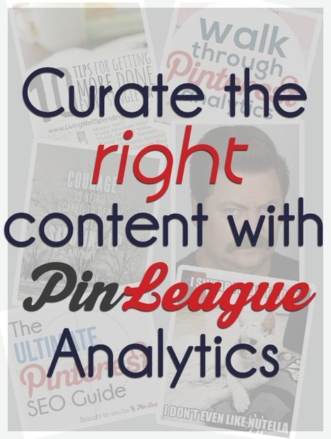 ANALYTICS - Using PinLeague's Pinterest Analytics to Curate Content Marketin | Pinterest for Business | Scoop.it