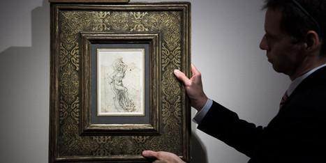 Un dessin de Léonard de Vinci découvert chez un commissaire priseur | L'observateur du patrimoine | Scoop.it