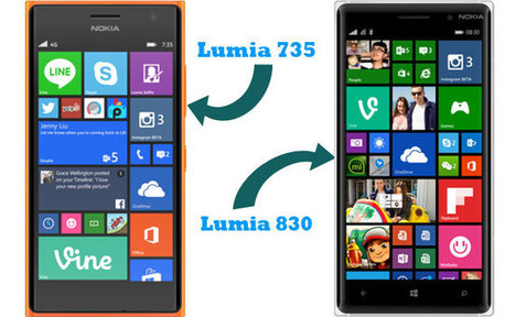 Lumia 830 and 735 launched in Malaysia by Microsoft | Tech Buzz | Scoop.it