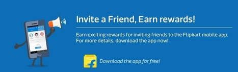 Flipkart Refer and Earn [New] : Earn Upto Rs.400 EGV Per Referral | Coupons, deals & offers, free recharge, unlimited money tricks, loot deals etc. | Scoop.it