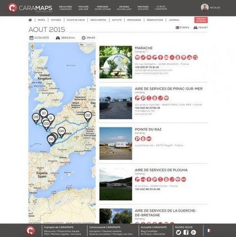 CaraMaps : le TripAdvisor et Airbnb du camping-cariste - Objectif Aquitaine | Infos e-tourisme FROTSI Bourgogne | Scoop.it