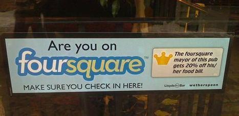 Foursquare : « J'y suis. Et toi ? » | toute l'info sur Foursquare | Scoop.it