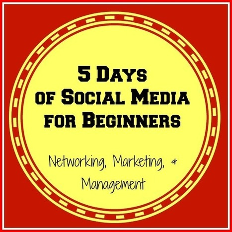 The Sunny Patch: 5 Days of Social Media for Beginners: Day One - I have a blog... now what?!? | Media | Scoop.it