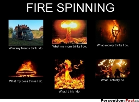 Fire Spinning | What I really do | Scoop.it