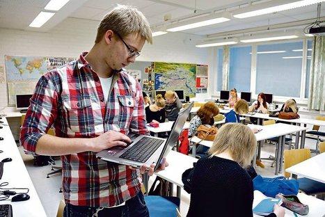 Kauniaisten lukio siirtyy tablettiaikaan | Länsiväylä | Rehtorielämää | Scoop.it