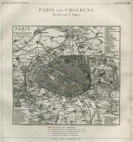 Historique des plans de Paris | La boite verte | Slovenian Genealogy Research | Scoop.it