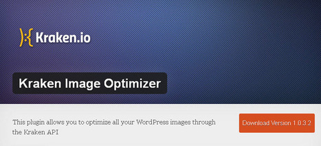 Kraken Image Optimizer - Image Optimization WordPress Plugin | Cours Informatique | Scoop.it