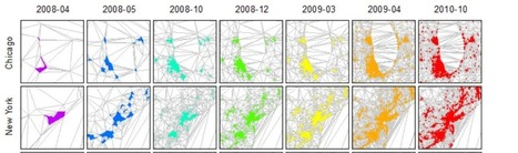 """Natural Cities"" Emerge from Social Media Location Data 