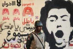 Street art: Gutsy graffiti captures evolution of Egypt uprising - Middle East Online | Street art news | Scoop.it
