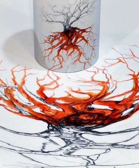 "Wela: Anamorphosis ""Viewer I"" | Art Installations, Sculpture, Contemporary Art | Scoop.it"